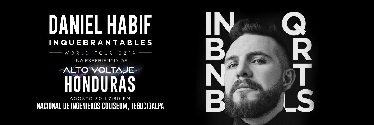 INQUEBRANTABLE TOUR DANIEL HABIF