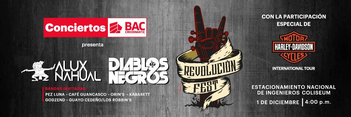 REVOLUCION FEST-HARLEY DAVIDSON TOUR