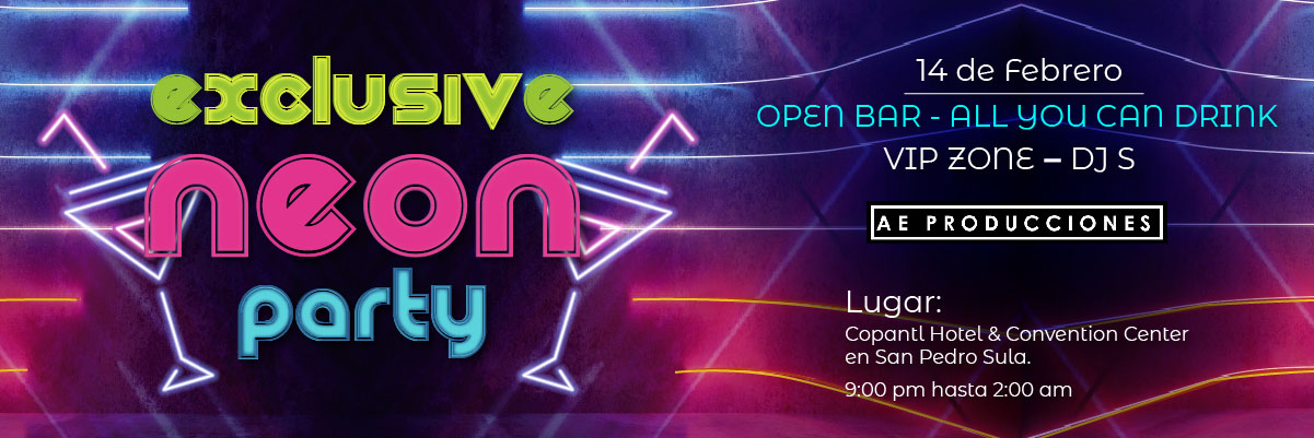 EXCLUSIVE NEON PARTY