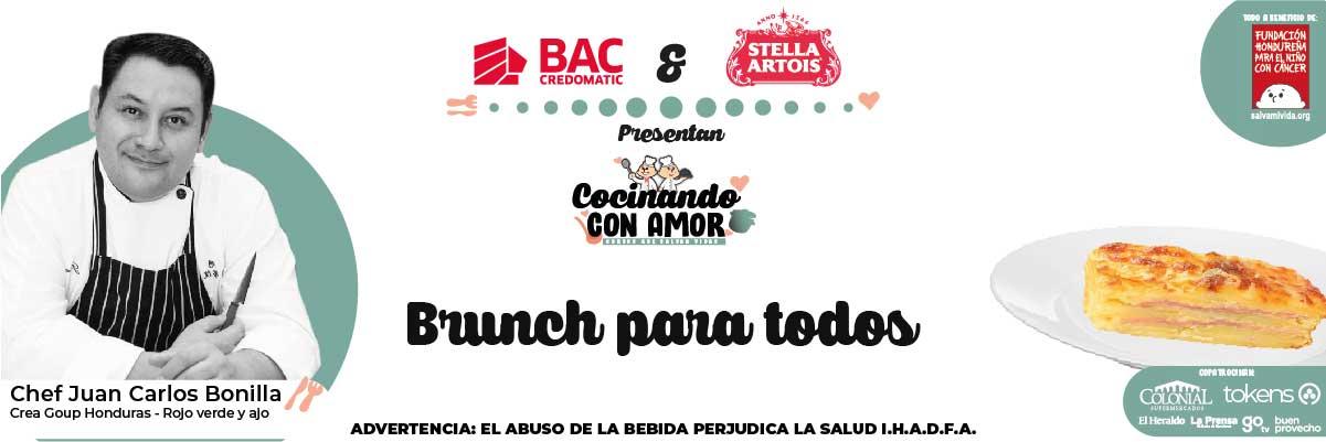 BRUNCH PARA TODOS / COCINANDO CON AMOR