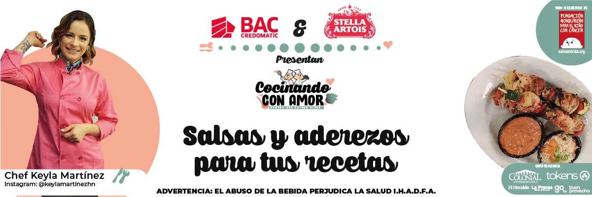 SALSAS Y ADEREZOS PARA TUS RECETAS / COCINANDO CON AMOR