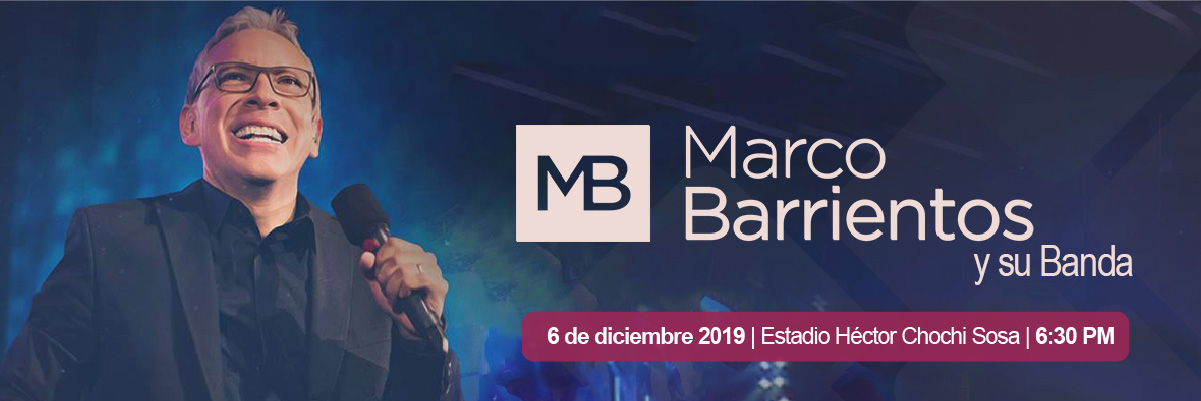 MARCO BARRIENTOS Y SU BANDA